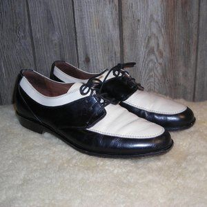 Cole Haan vintage black white oxfords shoes size 7